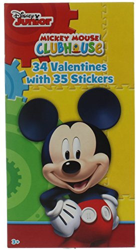 Disney Junior 34 Cards with Stickers