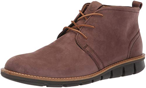 - ECCO Men's Jeremy Hybrid Boot Oxford, Coffee, 44 M EU (10-10.5 US)