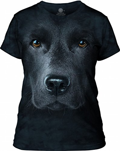 The Mountain Black Lab Face T Shirt