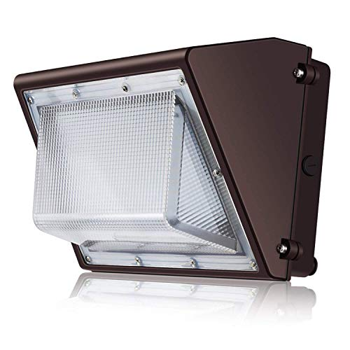 350w Mh Wall - SOLLA 80W LED Wall Pack Light Fixture, 9200LM IP65 Waterproof, 100-277V AC, 280-350W HPS/HID/MH Replacement, 5000K, Commercial and Industrial Outdoor Lighting, DLC & ETL-Listed, 5 Year Warranty