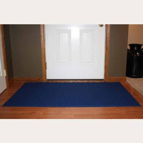 Durable DuraLoop Indoor/Outdoor Entrance Mat, 3' x 5', Blue