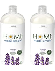 Home Made Simple Foaming Hand Soap Refill, Lavender Scent, 30 Fluid Ounce