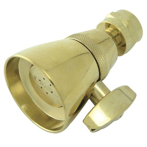 Kingston Brass K131A2 1-3/4-Inch Shower Head, Polished Brass
