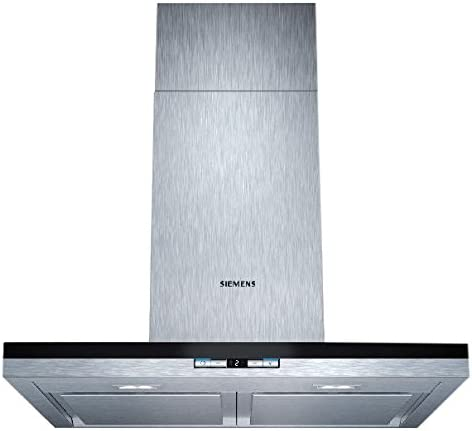 Siemens LC68BA542 - Campana (Recirculación, 600 m³/h, 61 Db, Montado en pared, LED, Acero inoxidable): Amazon.es: Hogar