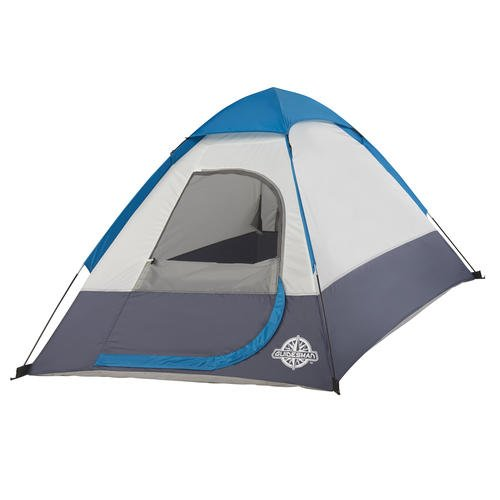 Comfortable Roomy Lightweight But TOUGH So Affordable Reliable Easy Set And Pack Well Ventilated Guidesman Ponderosa 2-Person 7' x 4' BLUE/WHITE Dome Tent