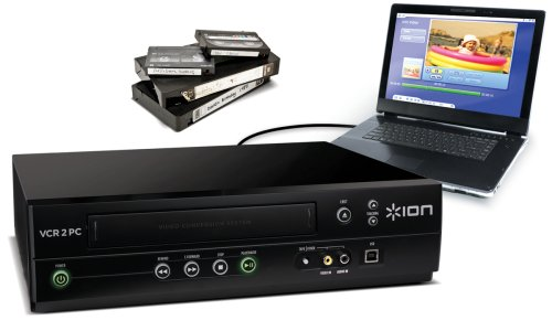 - ION Audio VCR 2 PC USB VHS Video to Computer Converter (Discontinued by Manufacturer)