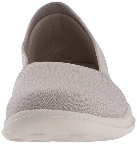 Skechers Womens Go Walk Lite-15412 Mocassino Piatto Talpa