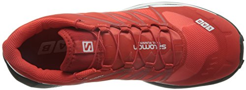 White Unisex Salomon Senderismo Black Rojo Adulto de L39121500 Zapatillas Red Racing qqTwWfIv1