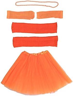 Toyvian - Set de Faldas de Tul para Disfraz de los años 80, tutú ...