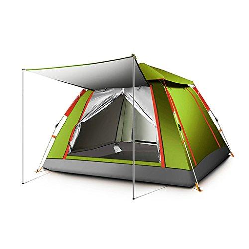 牛征服者協定YDYLZC- テント、自動アウトドア1-4人Thicken Rainproof Field Camping 柔らかい