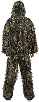 Gilly Suit Camo Jacket 3D Caza Traje Camuflaje para Caza ...