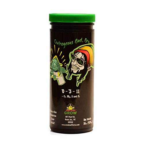 Outrageous Bud Bro - Organic Canna Fertilizer for Bloom Enhancing - by Good Stuff Grow Nutrients