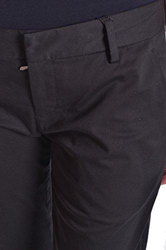Viscosa Ezbc101027 Negro Bikkembergs Pantalón Mujer 7ZqAvxP