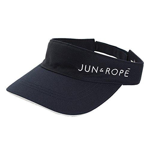 ジュン アンド ロペ JUN & ROPE 帽子 コットンツイルサンバイザー レディス ネイビー 40 フリー