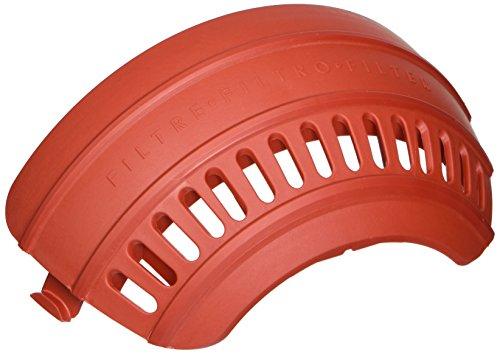 Dyson 915447-12, Metallic Red Post Filter Door Assy DC25