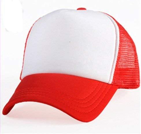 Rojo gorra de béisbol de sublimación: Amazon.es: Hogar