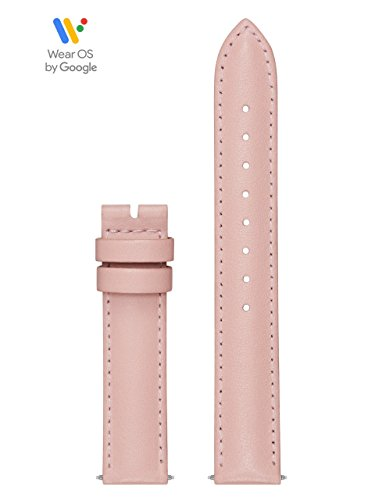GUESS CS1001S6 20mm Leather Calfskin Pink Watch Strap