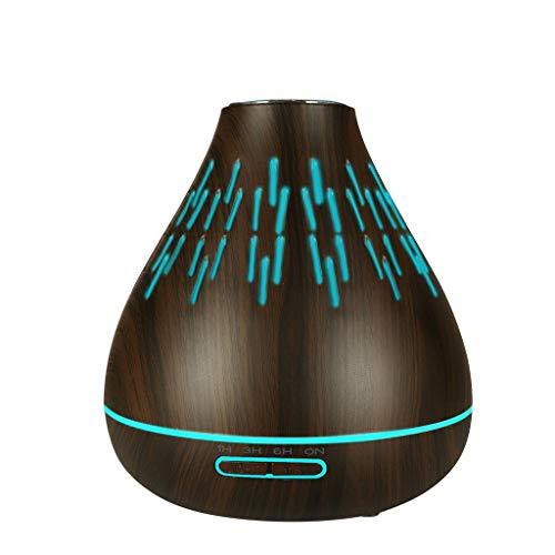 - SANNYSIS USB LED Ultrasonic Aroma Humidifier Essential Oil Diffuser Aromatherapy Purifier