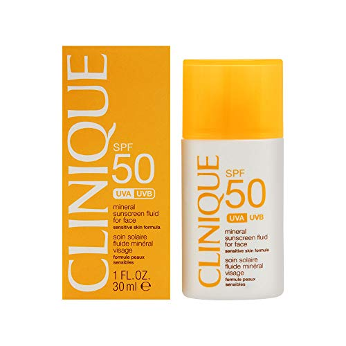 Clinique Clinique Spf 50 Mineral Sunscreen Fluid for Face 30ml/1.0oz, 1 Oz