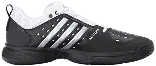 Adidas Performance Barricade Classic Rimbalzo Tennis Core Nero / Argento Metallizzato / Bianco