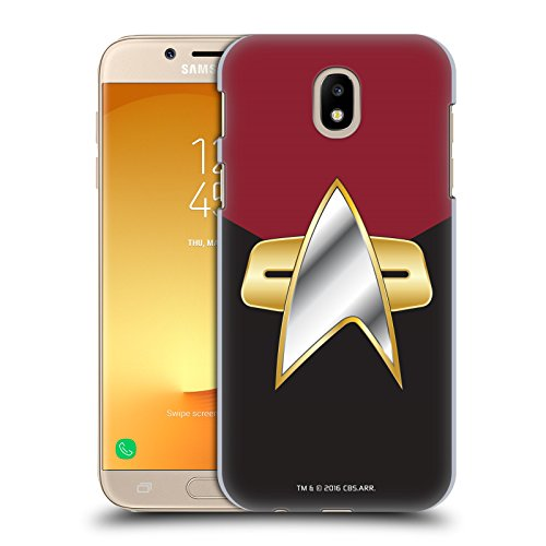 Official Star Trek Command Uniforms and Badges DS9 Hard Back Case for Samsung Galaxy J7 2017 / Pro ()