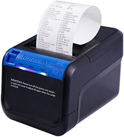 rongta rp850 tíquets Cocina Impresora USB paralelo compatible con ESC/POS/Opos alta velocidad de impresión para Android & sistemas Windows Negro: Amazon.es: Oficina y papelería