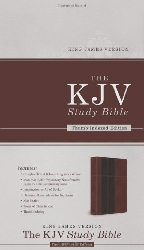 The KJV Study Bible - Indexed (King James Bible)