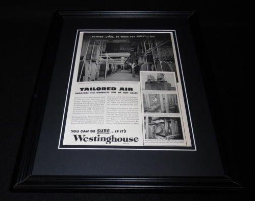 Original 1951 Framed Advertisement - 3