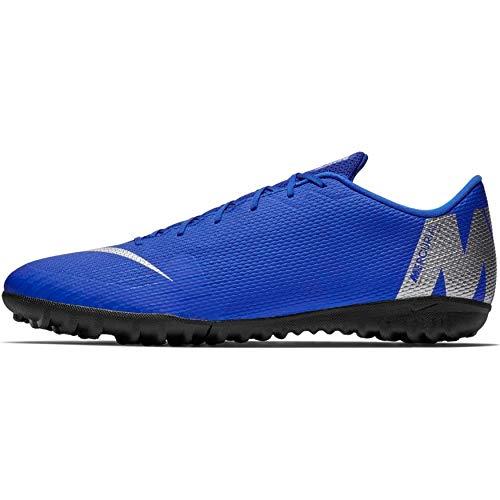 Nike Men's Soccer VaporX 12 Academy Turf Shoes (M9/W10.5) Blue