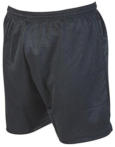 Precision Micro-stripe Football Shorts 42-44 inch Black