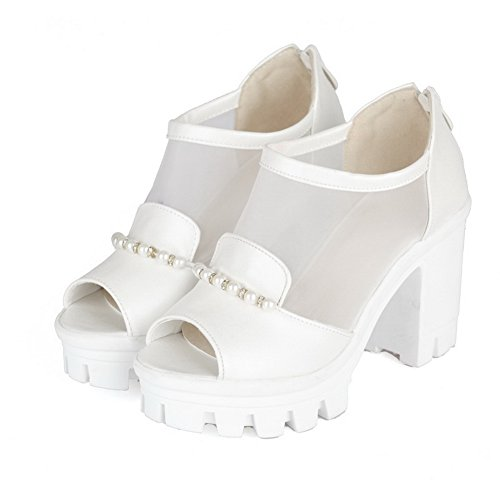 UK Womens Cold 1TO9 Oversized Urethane Non Lining Sandals 5 3 Marking White MJS03260 w7dq4dtf