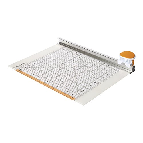 Fiskars F9515 Combo Rotary Cutter And Ruler With 45mm Blade | 12 X 12 Inch by Fiskars