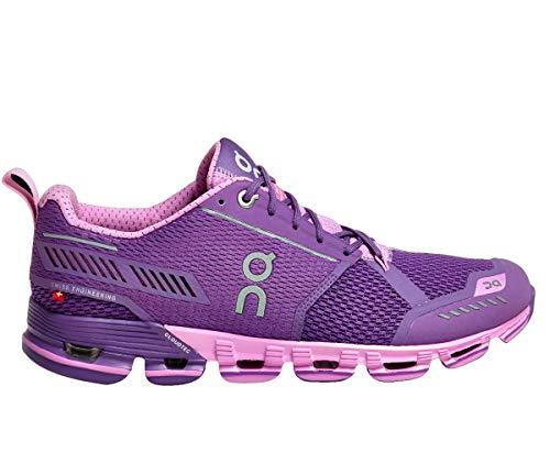 On Running Womens Cloudflyer Purple/Rose Running Shoe - 7