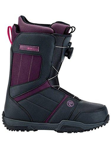 All Womens Mountain Snowboard Boots (Flow Women's Maya Boa Snowboard Boots 2018 Charcoal 10)
