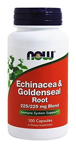 Foods Echinacea Goldenseal Root Capsules