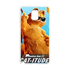 GARFIELD Samsung Galaxy Note 4 Cell Phone Case White as a gift P4830043