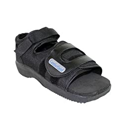 Comfortland Square Toe Post-Op Shoe (Medium)
