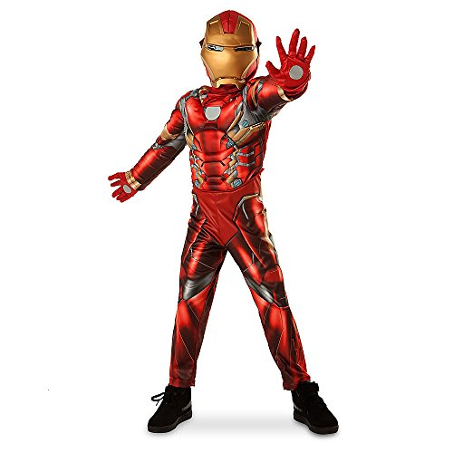 Marvel Iron Man Costume for Kids - Captain America: Civil War Size 5/6