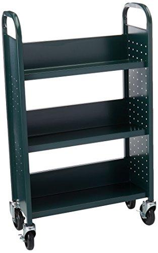 - Sandusky Lee SL327-08 Single Sided Sloped Shelf Welded Bookcase, 14