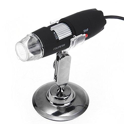 USB 50-500x Fach Digital Mikroskop Microscope Lupe 2MP mit 8 LED Video PC Kamera