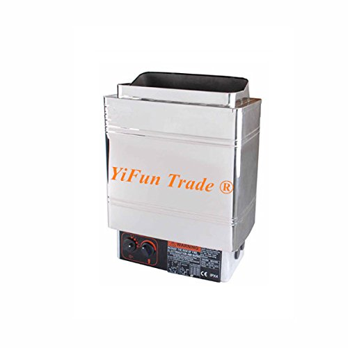 YiFun Trade 6.0KW SPA Sauna Bath Heater Stove for Family and Small Club Internal Control 220V by YF&EB