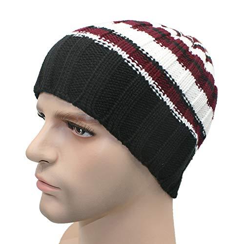 Winter Unisex Women Men Knit Ski Crochet Slouch Hat Cap Beanie Hip-Hop Hat Solid,E (Impractical Jokers Best Moments)