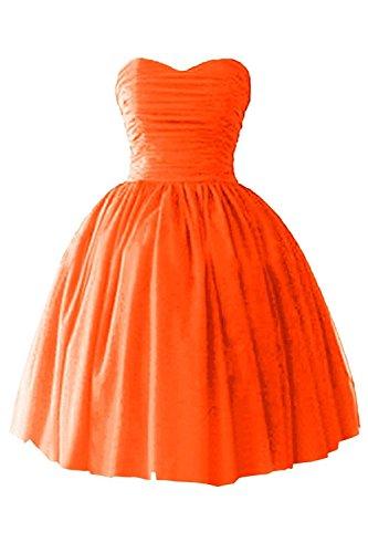 Einfach Rosa Kurz Neu Cocktailkleider Brautjungfernkleider Mia Partykleider Chiffon Heimkehr Orange La Tanzenkleider wBOC7qTTxn