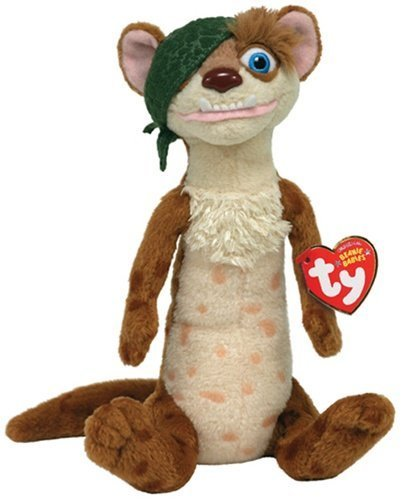 Ice Age 3 Buck Ty Beanie Baby Plush 40772
