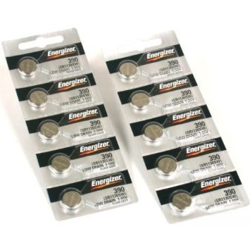 Home Products - - 10 390 / 389 Energizer Watch Batteries SR1130SW Cell ()