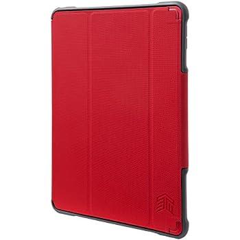 STM Dux–Plus Ultra–Carcasa protectora para Apple iPad Pro 9.7–Azul (STM-222–129jx-25), iPad Pro 10.5, Rojo