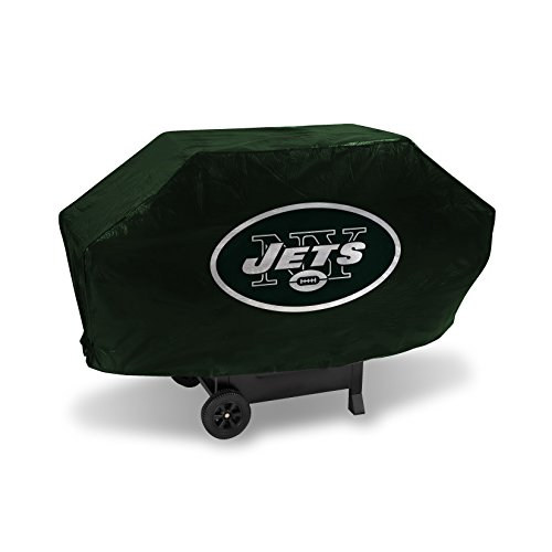 (NFL New York Jets Vinyl Padded Deluxe Grill Cover)