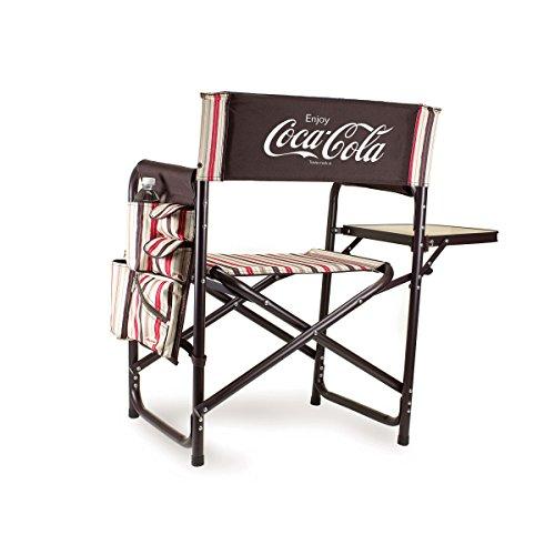 Picnic Time Coca-Cola Portable Folding Sports Chair, Moka ()