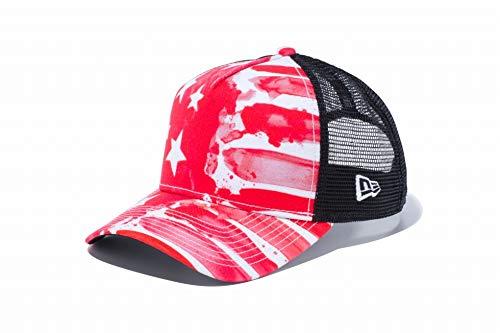 ニューエラ NEW ERA 帽子 940 AFTR WATER PAINT SAS キャップ レッド フリー