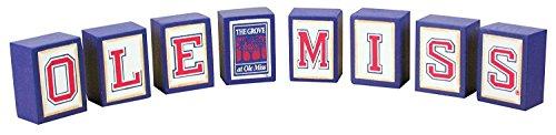 Hanna's Handiworks Ole Miss The Grove Collectible Block Set -